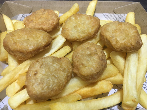 Chicken Nuggets and Chips - Large