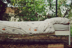 'secret forest' gray kids bedding set|סט מצעים למיטת נוער בצבע אפור בהיר -New Collection secret forest