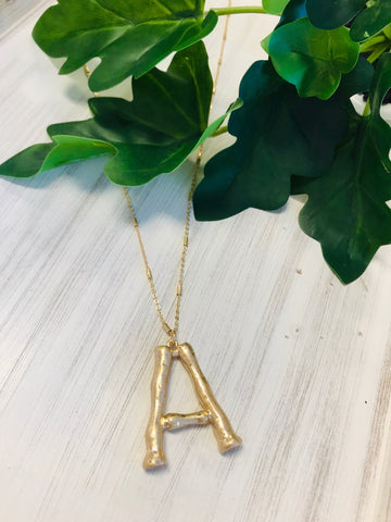 XOXO Initial Necklace {Initial Options}