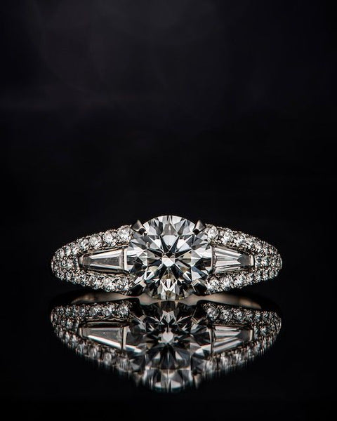 Bespoke Engagement Ring created by Third Eye Assembly
