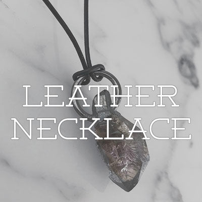 Shop Leather Necklace