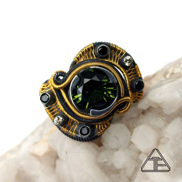Wire Wrap Ring from Buddy Austin