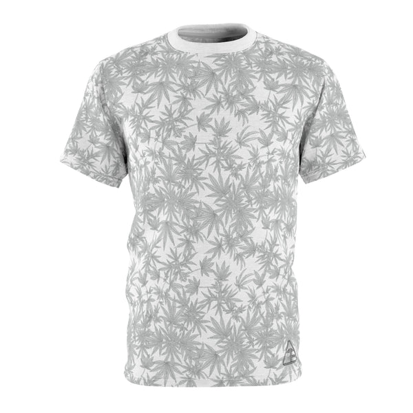 'Haze' Cannabis Tee in White