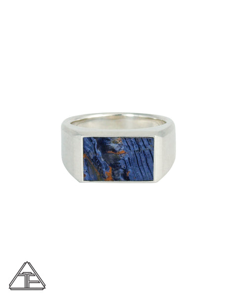 Signet Ring: Inlay Pietersite
