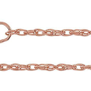 14k Rose Gold Fill Double Rope Chain 1.4mm