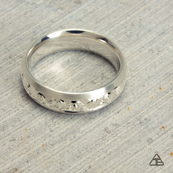 Drexel: Hand Engraved Band / Ring