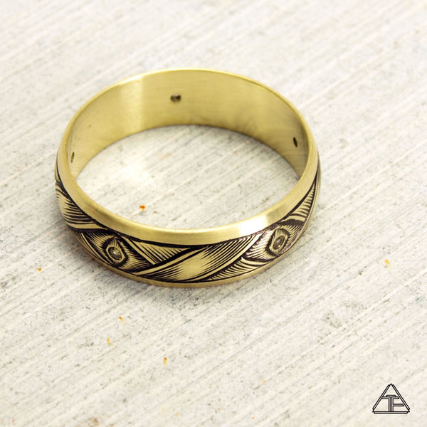 Aldous: Hand Engraved Band / Ring