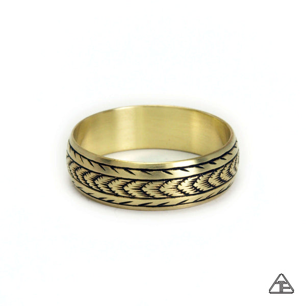 Romulus: Hand Engraved Band / Ring