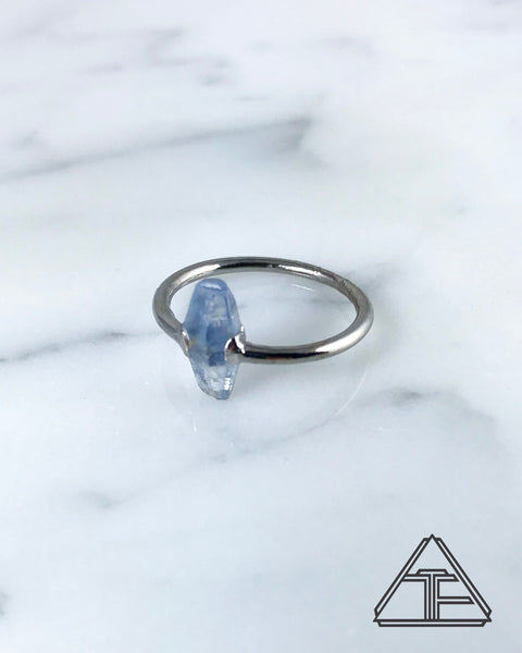 Size 6.5 - Sapphire Crystal Talisman Ring