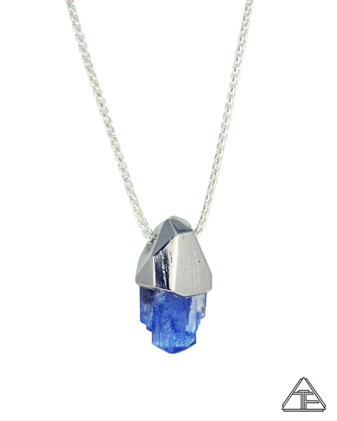 Large Tanzanite Crystal Talisman Pendant
