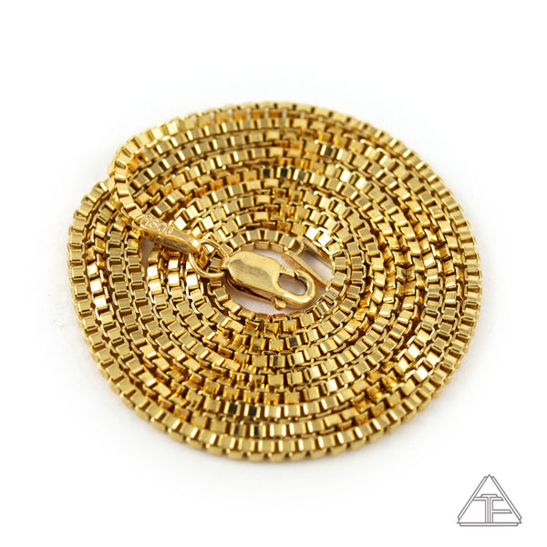 14k Gold Fill Box Chains