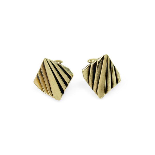 Mohs: Brass Cufflinks