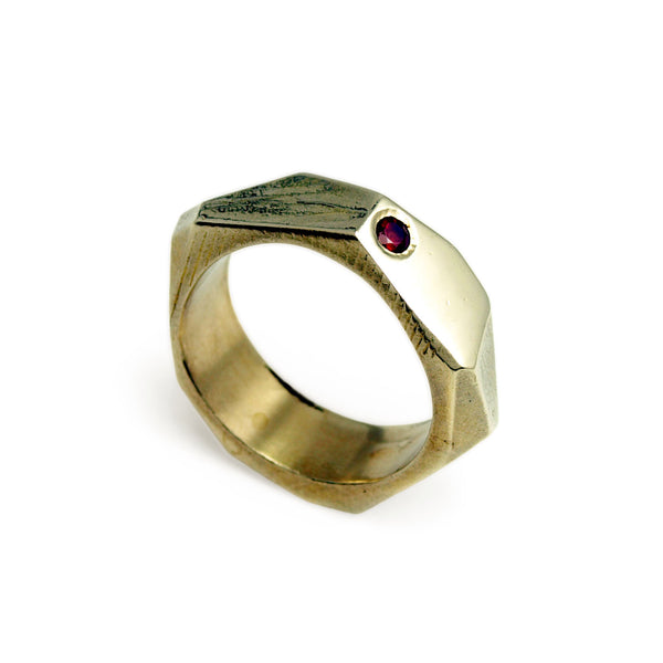 Lattice: Brass Ring Garnet