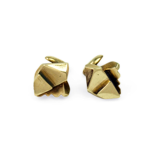 Prism: Brass Cufflinks