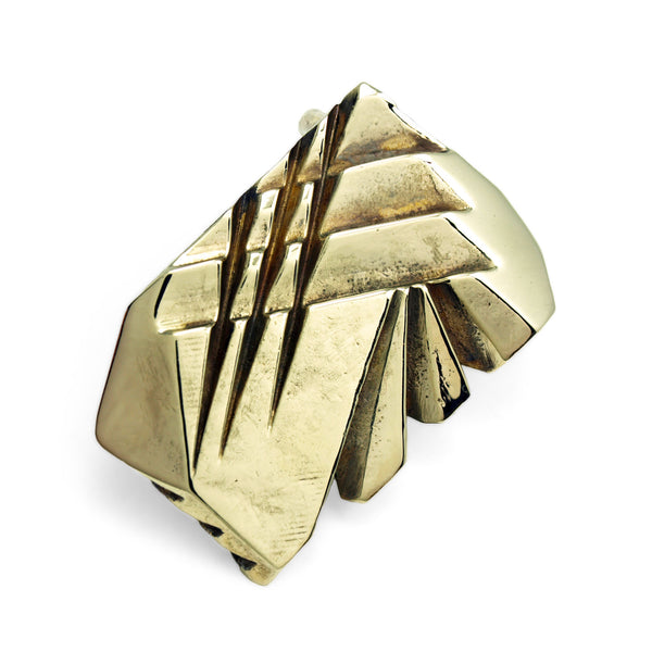 Prism: Brass Belt Buckle