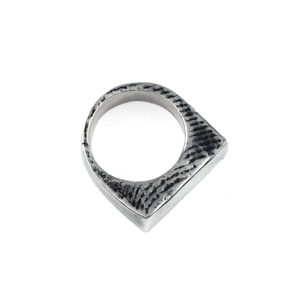 Lamina Lattice: Sterling Silver Ring