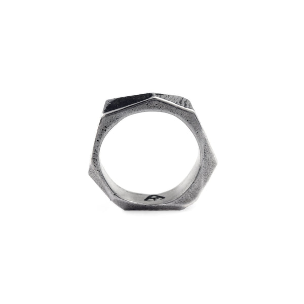 Lattice: Sterling Silver Ring