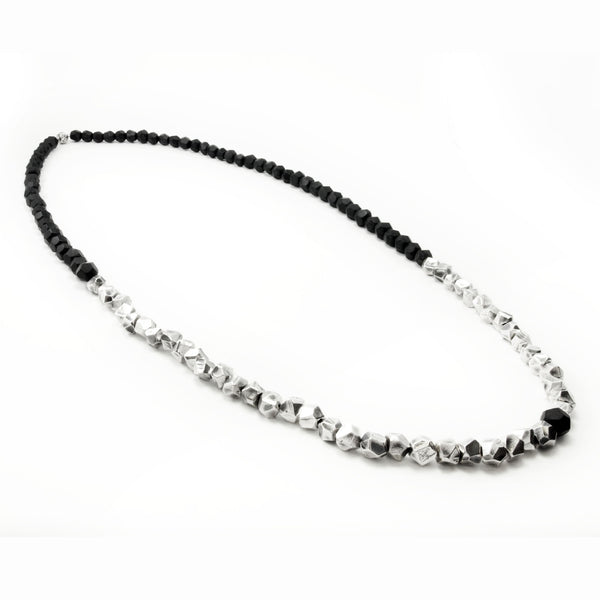Lattice: Sterling Silver Ebony Chain Ebony