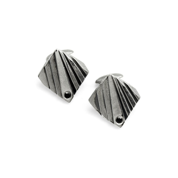 Mohs: Sterling Silver Cufflinks