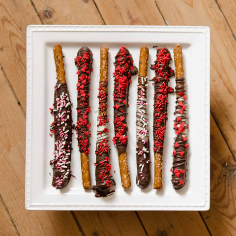 Chocolate Dipped Pretzels (1/2 doz.)