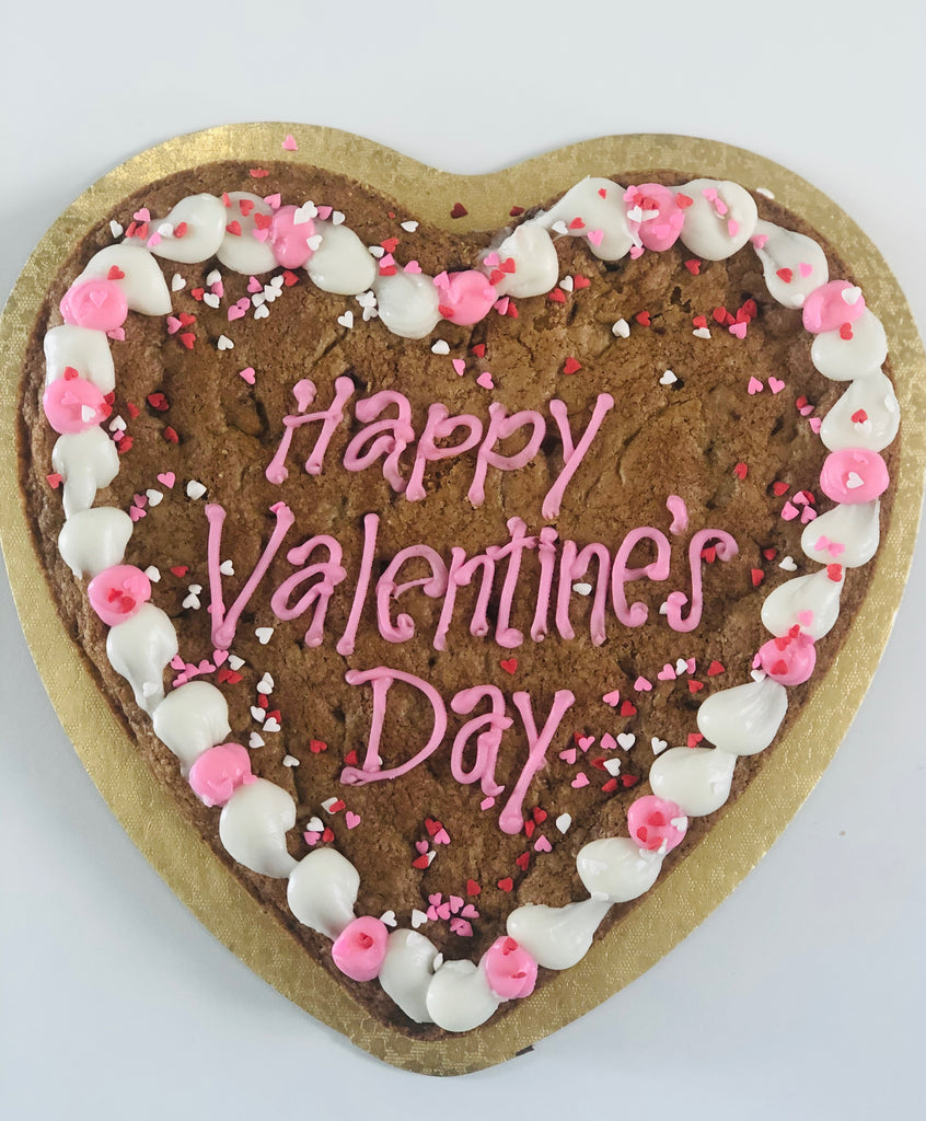 Heart Cookie/Brownie Cake