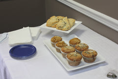 Let your staff decide between scones and muffins for breakfast!