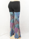 Coral Blue Sparkle Pants