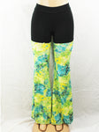 Yellow Green Monet Pants