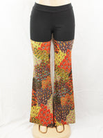Autumn Peacock Sparkle Pants
