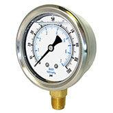 PIC - Model 201L - Liquid Filled Pressure Gauge