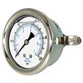 PIC - Model 203L - Liquid Filled Pressure Gauge