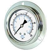 PIC - Model 204L - Liquid Filled Pressure Gauge