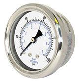 PIC - Model 212D - Dry (but fillable) Pressure Gauge