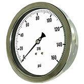 PIC Gauges Model 6002 Heavy Duty, All Stainless Steel, Pressure Gauge