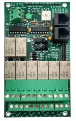 RC Systems - 8 Channel Discrete Relay (P/N: 10-0195)