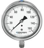Ashcroft Duralife® Stainless Steel Pressure Gauge, Type 1009