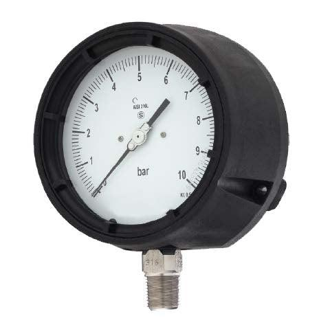 Bourdon - AH Series Pressure Gauge