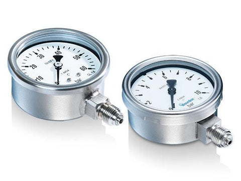 Bourdon - MEX3 Series - Pressure Gauge