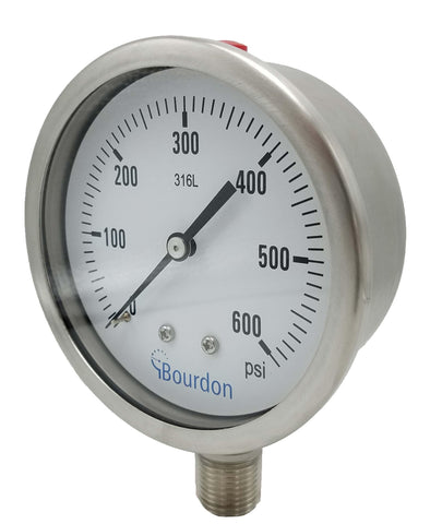 Bourdon - MEX5 Series - Pressure Gauge