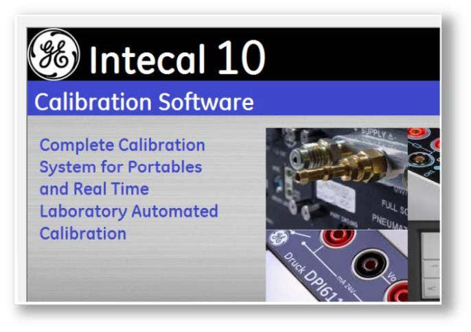 GE Druck - INTECAL (v10) Calibration Software