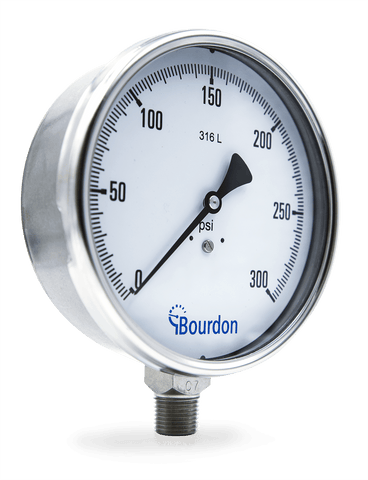 Bourdon - MIX7 - Pressure Gauge