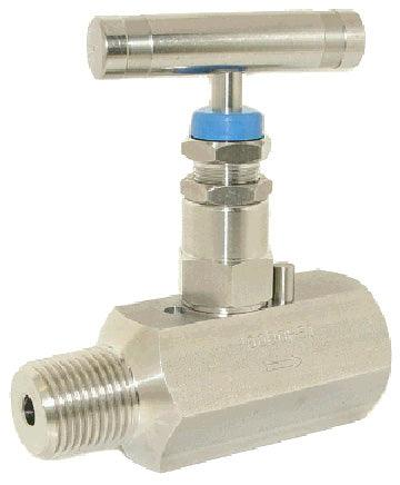 PIC Gauges - HV Series Needle Valves (Hex Body, Packed Stem)