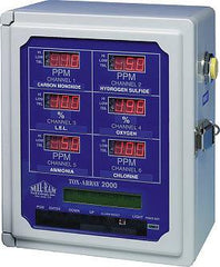 Mil-Ram - Model TA-2000 Multi-Channel Gas Detection Controller