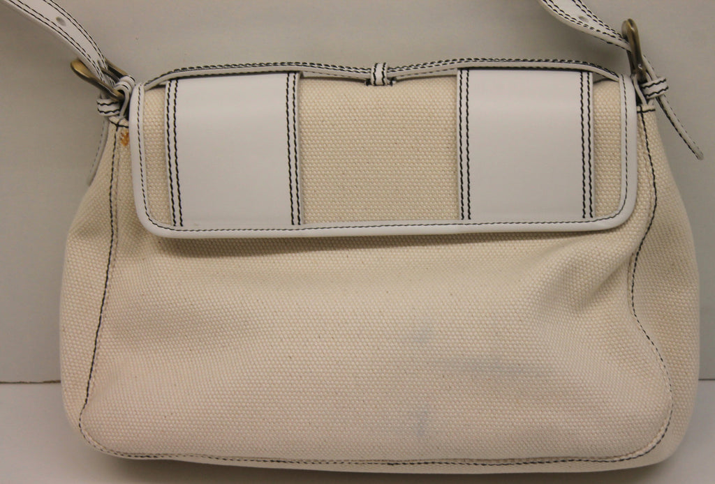 Fendi Bag with Leather Strap   Double Buckle – The Live Wardrobe 06bd133311aac