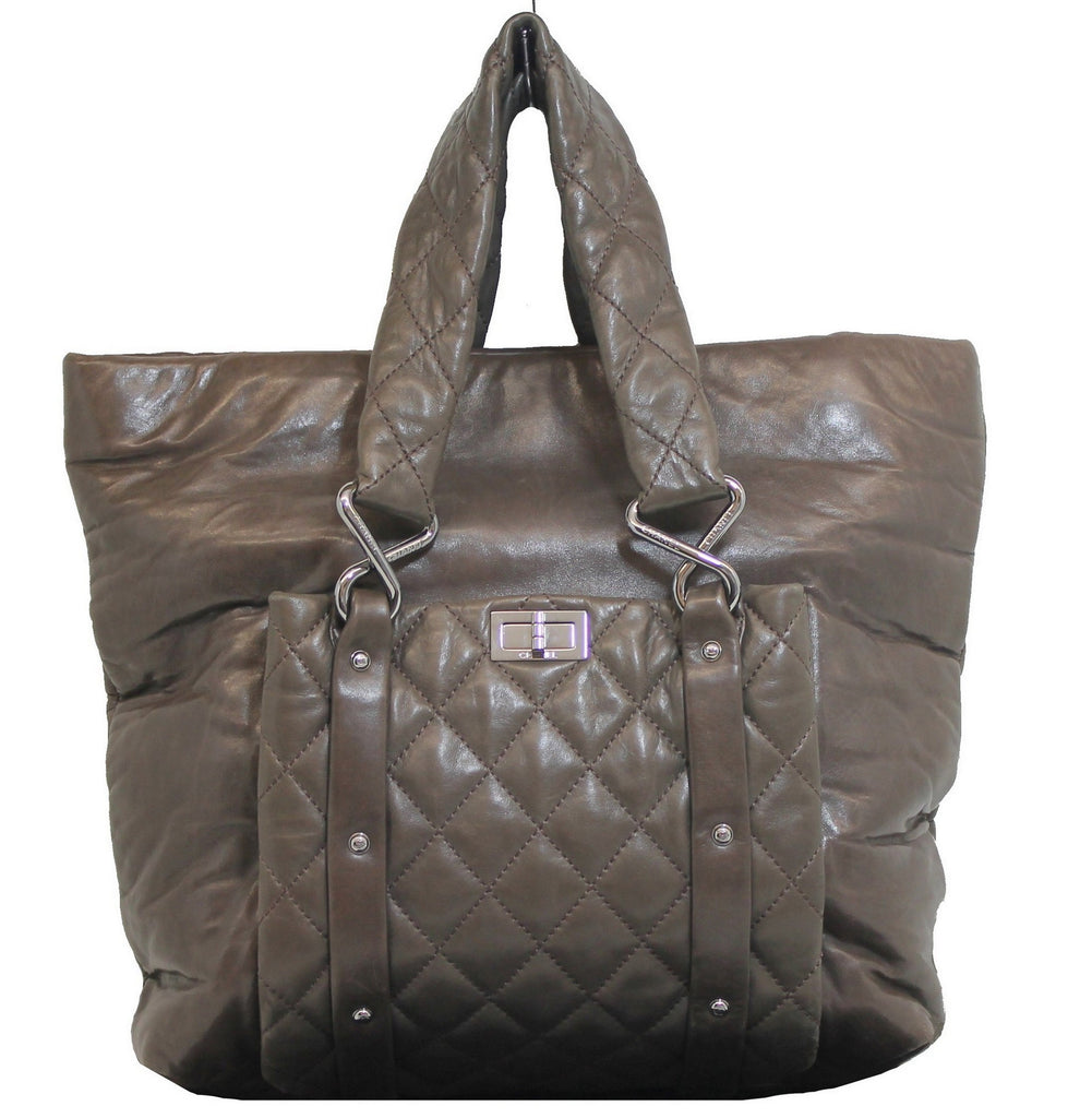 a2a3a61acd29 Chanel Large Brown Cocoon Bag – The Live Wardrobe