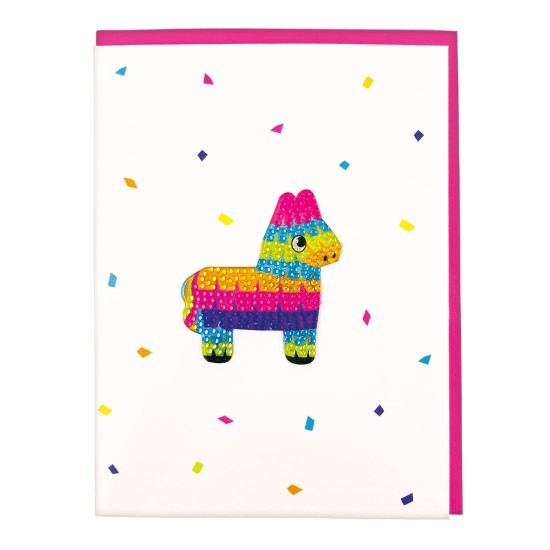 iScream - Pinata Rhinestone Decal Card