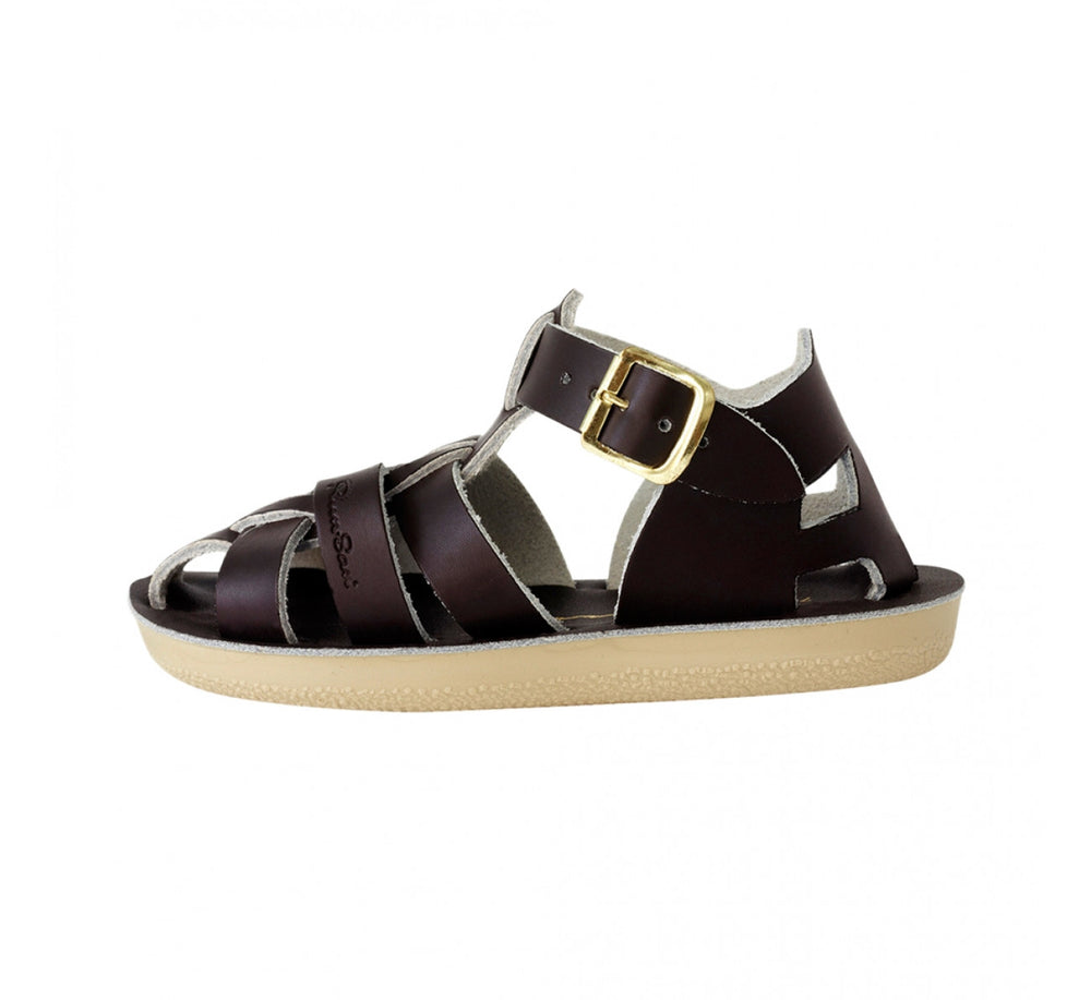 Salt-Water Sandals - The Sun San Shark - Brown