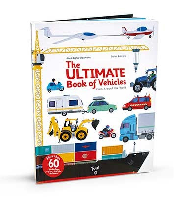 Hachette - The Ultimate Book of Vehicles From Around the World