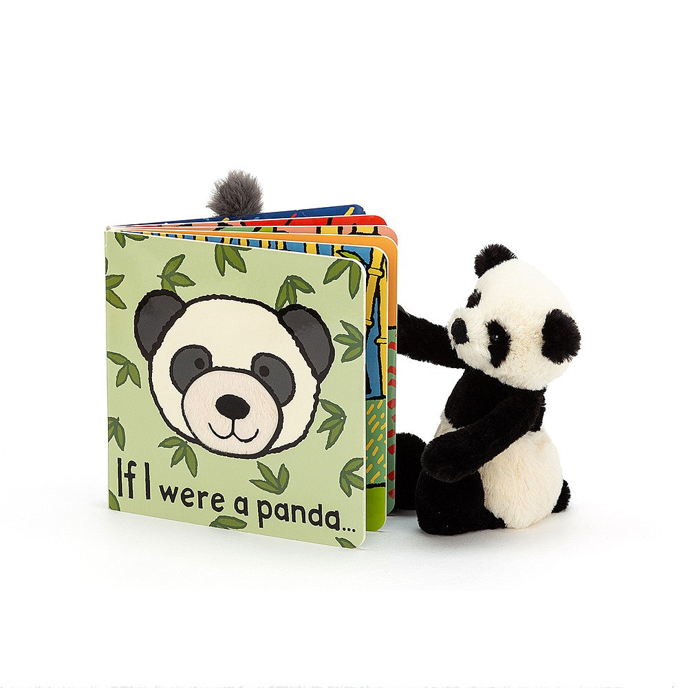 JellyCat - If I Were A Panda Board Book