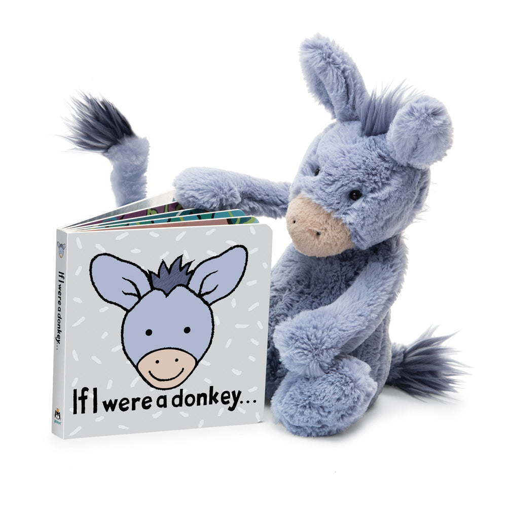 JellyCat - If I Were A Donkey Book